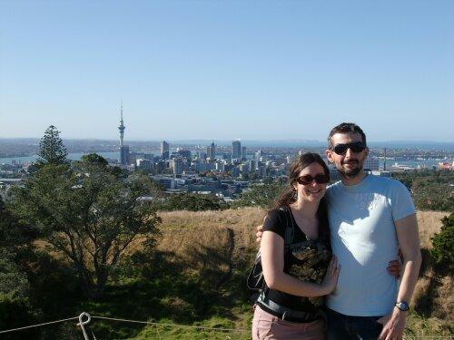 Vue sur Auckland