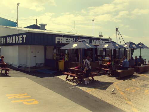 Fresh Fish Market à Tauranga, Nouvelle-Zélande