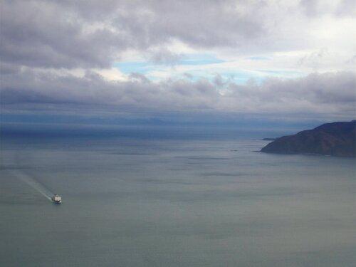Ferry pour la traversée Wellington Picton, Nouvelle-Zélande