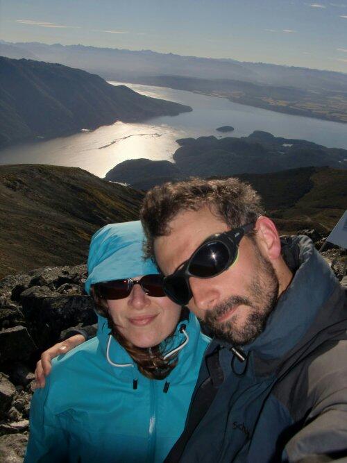Vue sur le lac de Te Anau