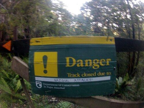 Danger sur le Kepler Track