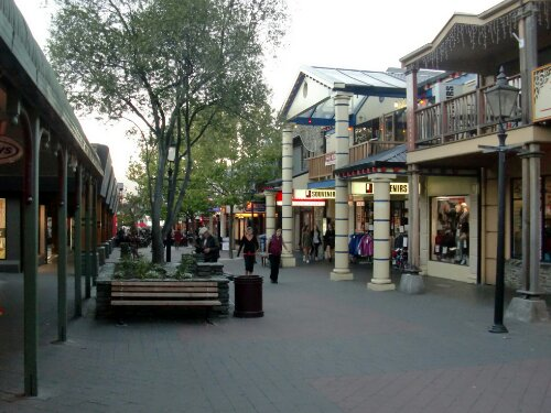 Queenstown centre ville