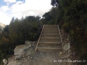 Escalier sur Sealy Tarn Track