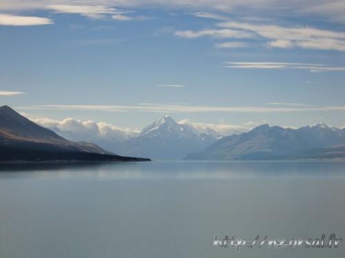 Mont Cook depuis le lac Pukaki