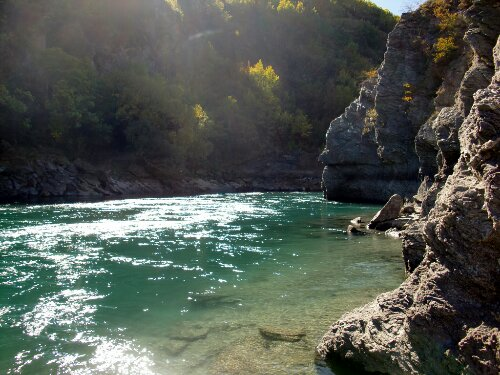 River Anduin - Gorges Karawau
