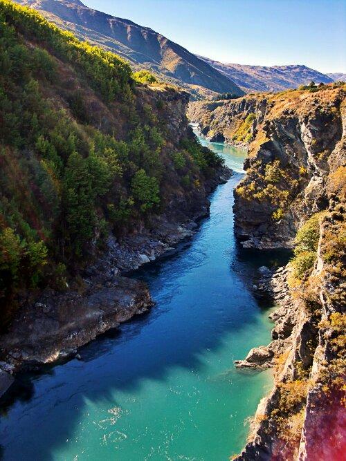 Gorges de Karawau, Nouvelle-Zélande