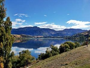 Lac Hayes, Queenstown, Nouvelle-Zélande