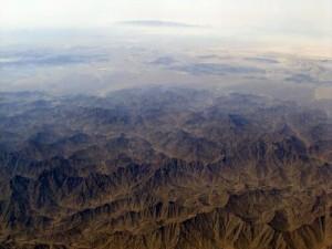 Montagnes du désert d'Oman