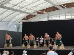 Danse du pacifique en Nouvelle-Zélande
