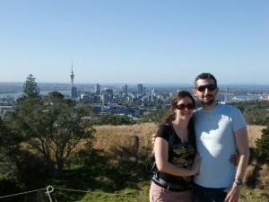 Auckland depuis le Mont Eden
