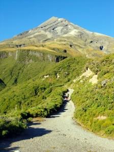 Départ vers le Taranaki