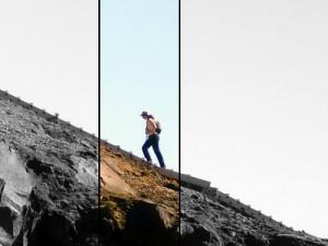 Escaliers ou la montagne par les néo-zélandais