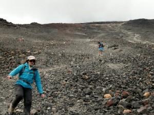 Descente du volcan Ngauruhoe