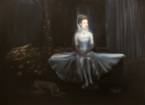 peinture au musée de Tauranga
