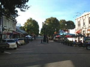 Les rues de Nelson