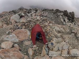 Campsite Mueller Hut