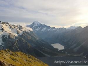 Lever de soleil sur le Mont Cook